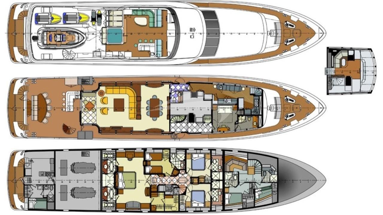 100 yacht floor plan blue angel luxury charter